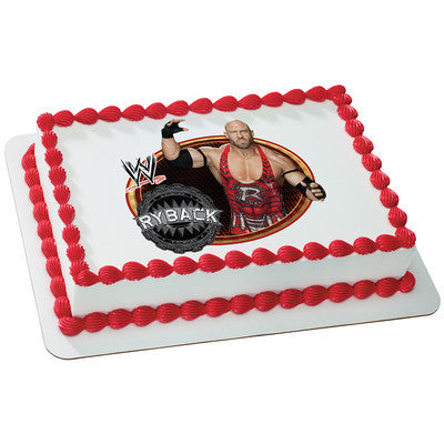 WORLD WRESTLING RYBACK Photo Cake