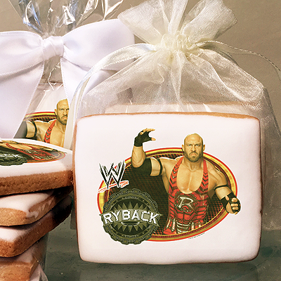 WORLD WRESTLING RYBACK Photo Cookies