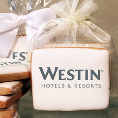 Marriott Hotels Branded Logo Cookies