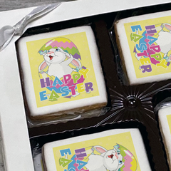 Easter Bunny Surprise Cookie Gift Box