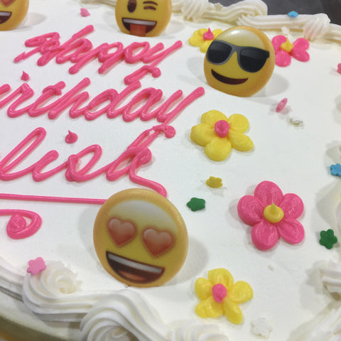 Emoji Rings Cake Design