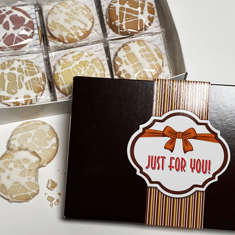 Just For You Gourmet Shortbread Cookie Gift Box