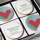World Together Puzzle Cookie Gift Box