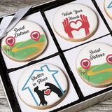 Shelter in Place Cookie Greeting Gift Box