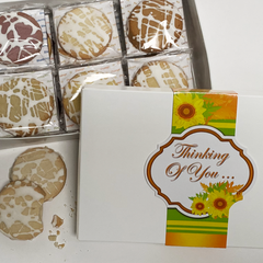Thinking of You Gourmet Shortbread Cookie Gift Box