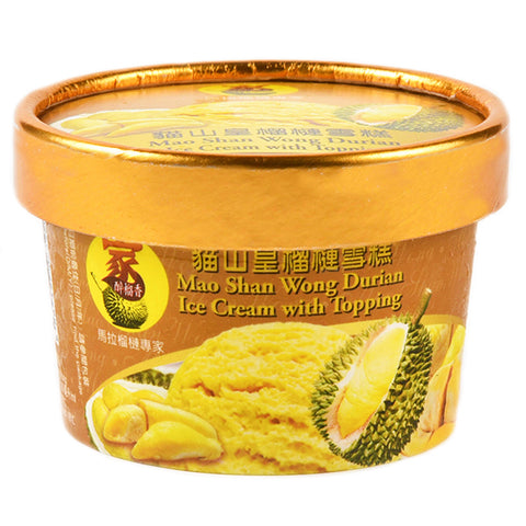 Mao Shan Wong Durian Ice Cream