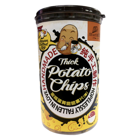 Salted Egg Potatoes Chips