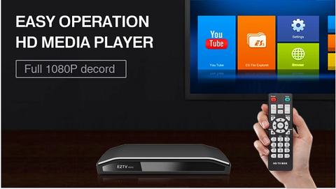 EZTV mini HD media player