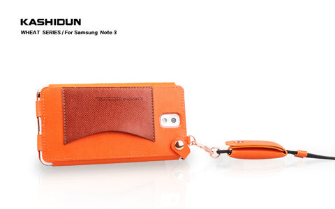 Samsung note3 wheat series of high-grade mobile phone - Orange Color