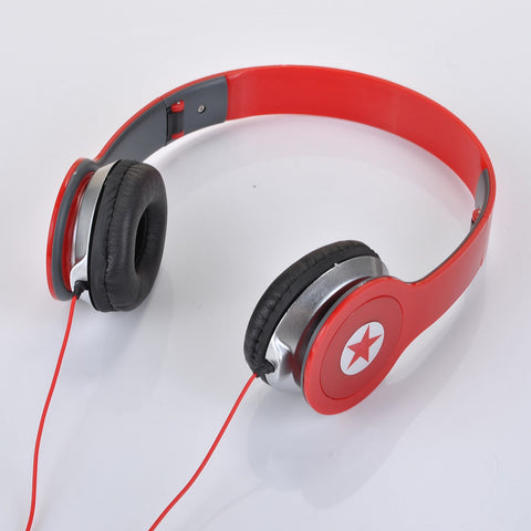 HD Headphones Star Stereo 3.5mm jack
