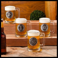 Military Service beer steins