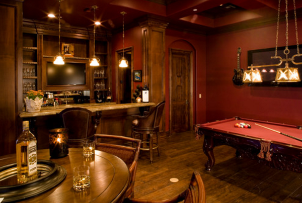 Man Cave Ideas - Billiards Room