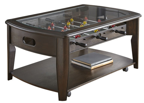 Mancaveideas - foosball coffee table