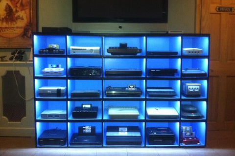 Man Cave shelving