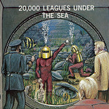 20,000 Leagues Under the Sea Shower Curtain - Man Cave Ideas  - 3