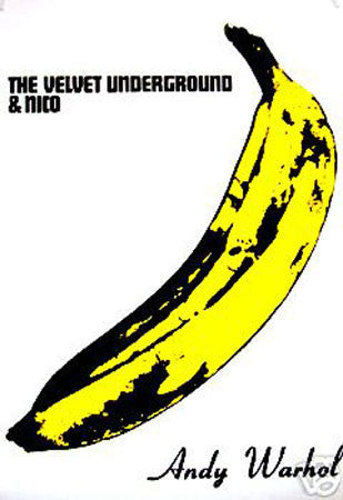 Andy Warhol 'The Velvet Underground & Nico' Album Cover print - Man Cave Ideas