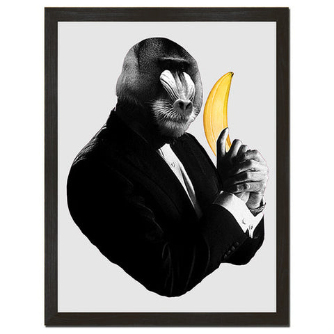 Banana Bond Print Art - Man Cave Ideas