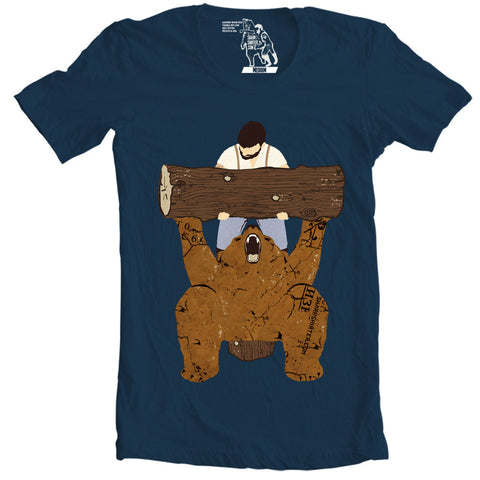 Bear Spotting T-shirt - Man Cave Ideas  - 1