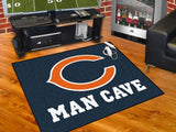 NFL Team Man Cave Rugs (34 x 45 inches) - Man Cave Ideas  - 2