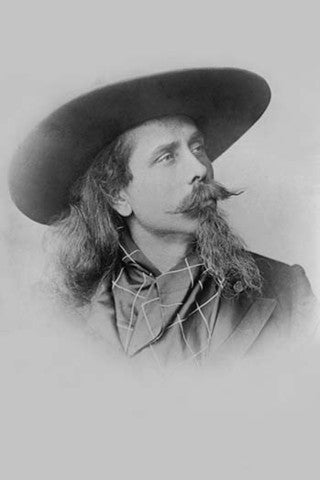 'Buffalo Bill (William F. Cody)' vintage print - Man Cave Ideas