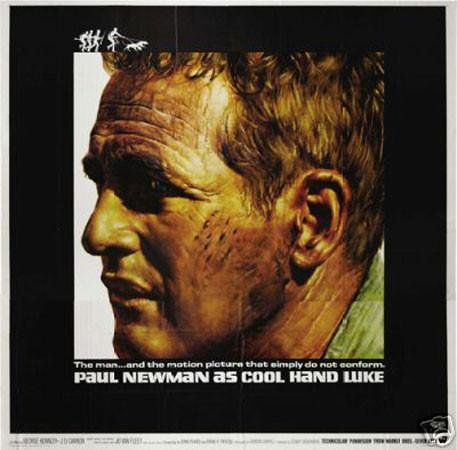 Paul Newman 'Cool Hand Luke' Film print (12 x 18) - Man Cave Ideas