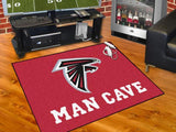 NFL Team Man Cave Rugs (34 x 45 inches) - Man Cave Ideas  - 3