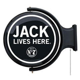 Jack Lives Here ® Rotating Pub Light