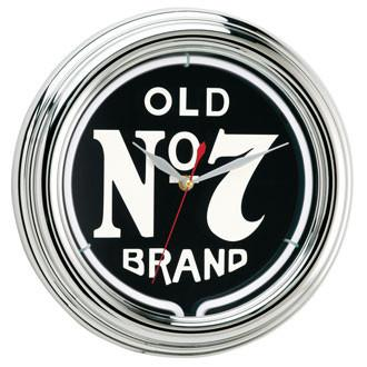 Jack Daniel's® Old No. 7 Neon Clock