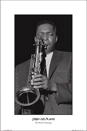 John Coltrane print - Man Cave Ideas