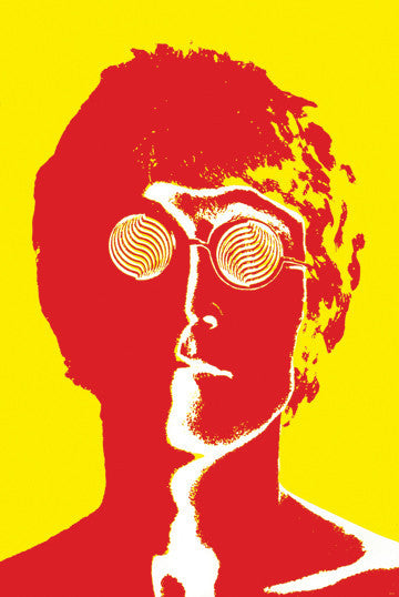 John Lennon Pop Art print - Man Cave Ideas