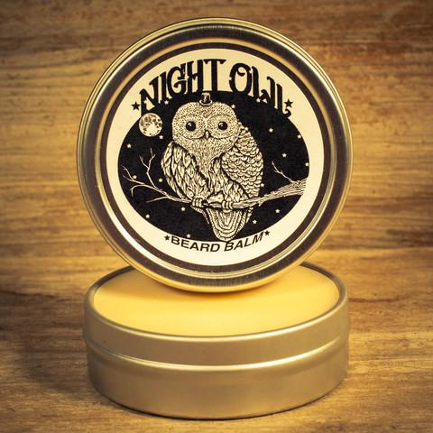 Night Owl Beard Balm (2oz Tin) - Man Cave Ideas