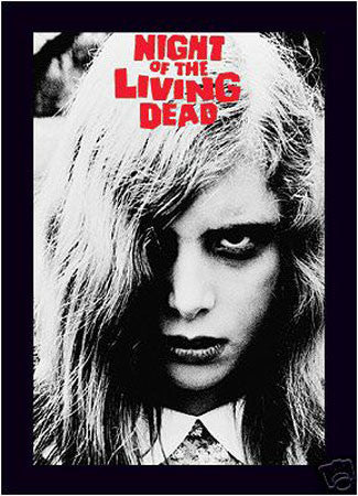 'Night of the Living Dead' Film print - Man Cave Ideas