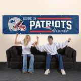 NFL Team Country Banners (8x2 feet) - Man Cave Ideas  - 2