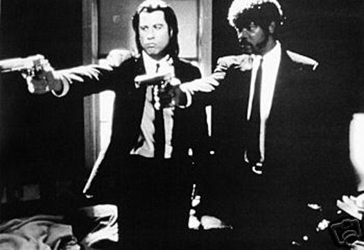 Pulp Fiction print - Man Cave Ideas