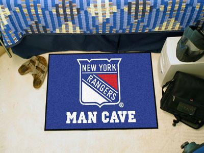 NHL Team Man Cave Rugs (19 x 30 inches) - Man Cave Ideas  - 1