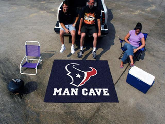 NFL Team Man Cave Rugs (60 x 72 inches) - Man Cave Ideas  - 1