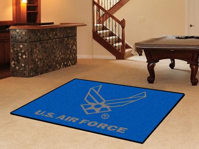 U.S. Military Service Rugs 5 x 8 (90 x 60 inches) - Man Cave Ideas  - 1
