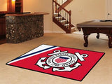 U.S. Military Service Rugs 5 x 8 (90 x 60 inches) - Man Cave Ideas  - 3