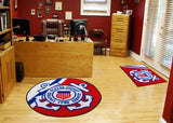 U.S. Military Service Rugs (44 inches diameter) - Man Cave Ideas  - 1