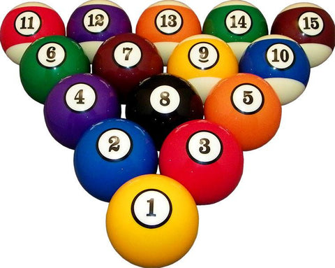 Professional Pool / Billiard Ball Set - Man Cave Ideas