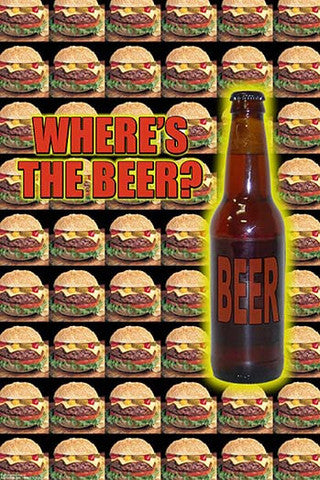 'Where's the Beer?' print - Man Cave Ideas