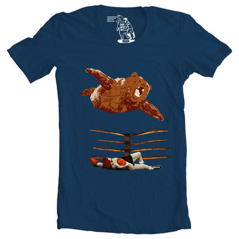 Bear For The Win T-shirt - Man Cave Ideas  - 1