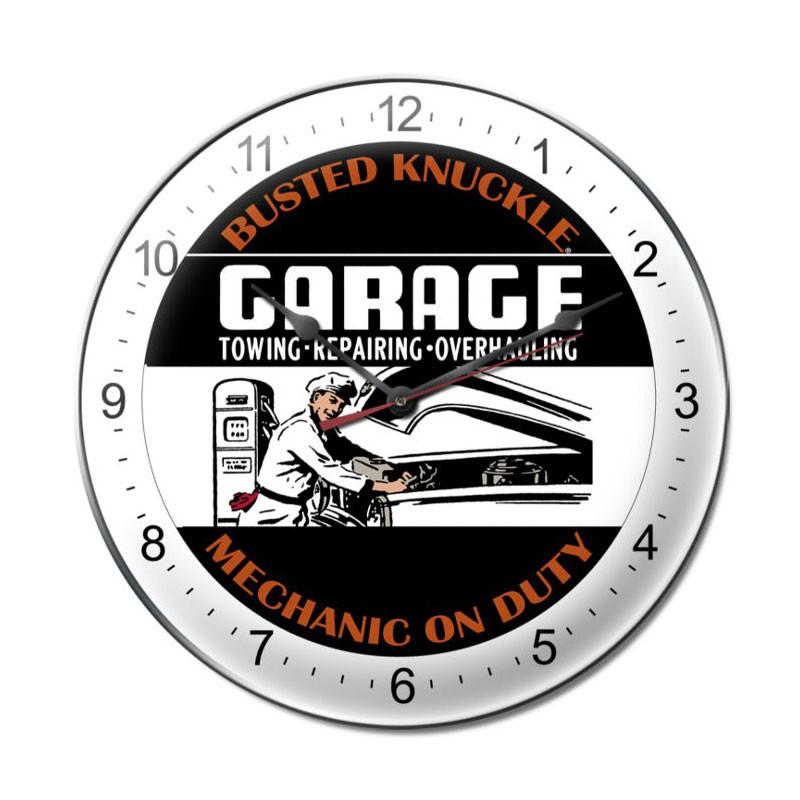 Mechanic On Duty Clock - Man Cave Ideas