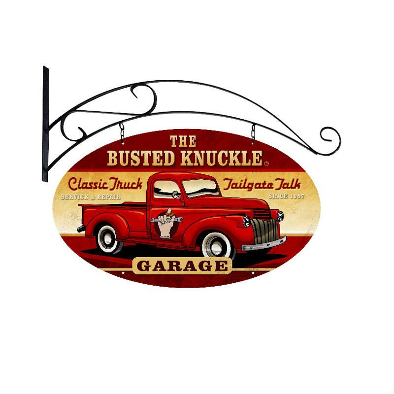 Old Truck Metal Sign - Man Cave Ideas