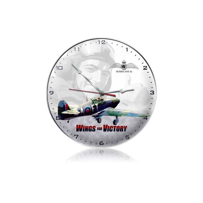 Wings For Victory Clock - Man Cave Ideas