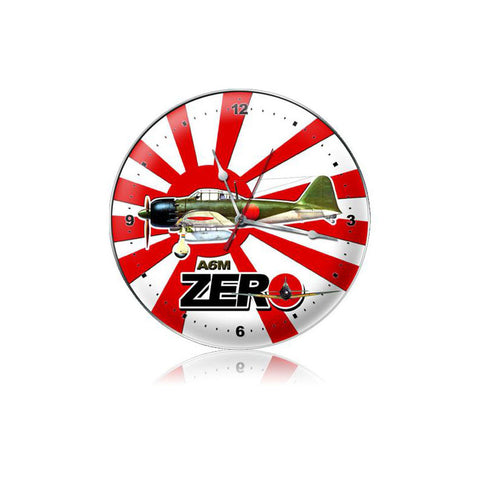 A6M Zero Clock - Man Cave Ideas
