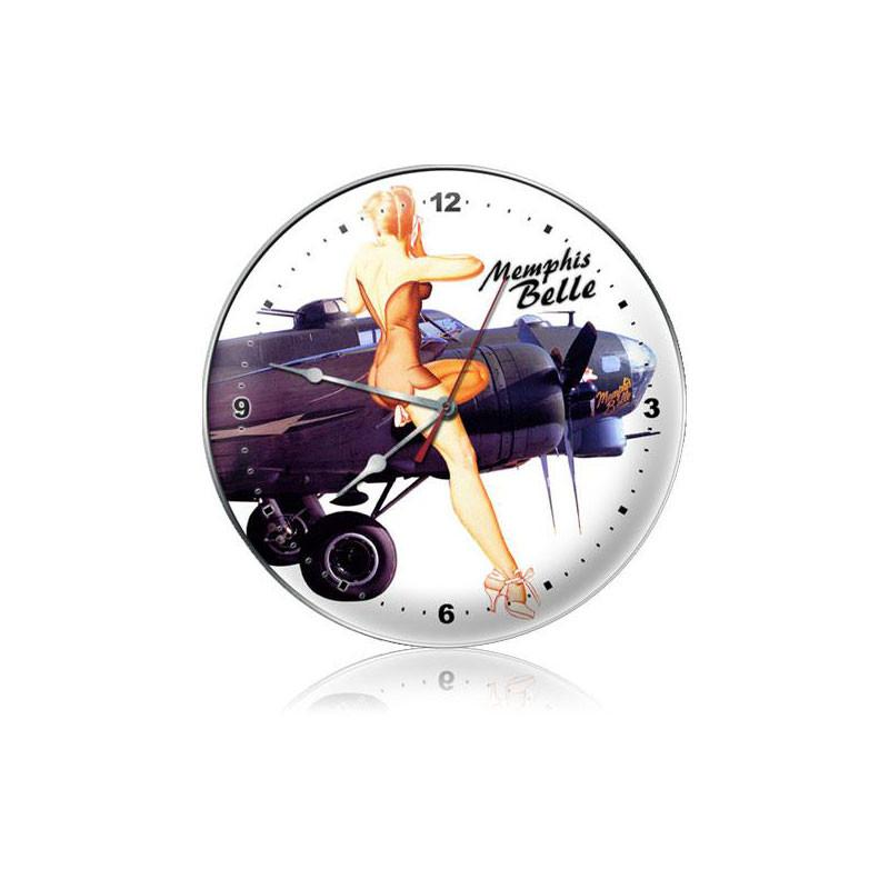 Memphis Belle Clock - Man Cave Ideas