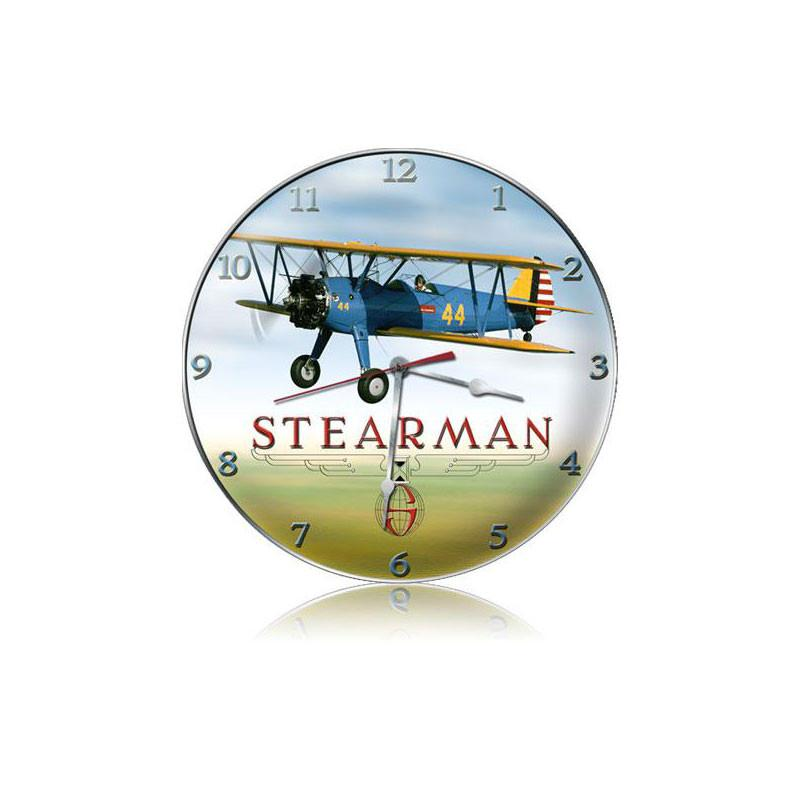 Stearman Clock - Man Cave Ideas