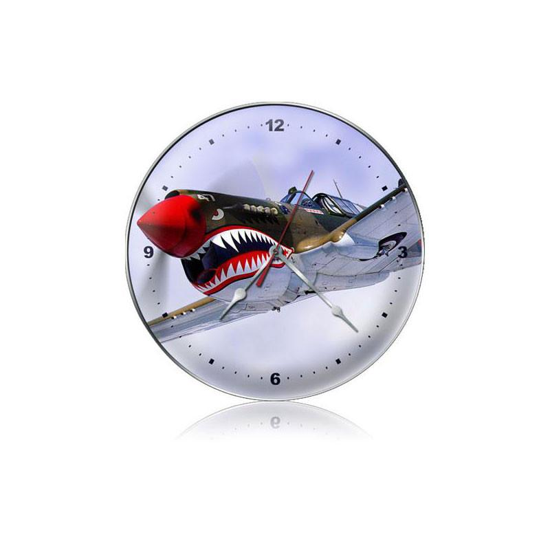 Nose Art Clock - Man Cave Ideas