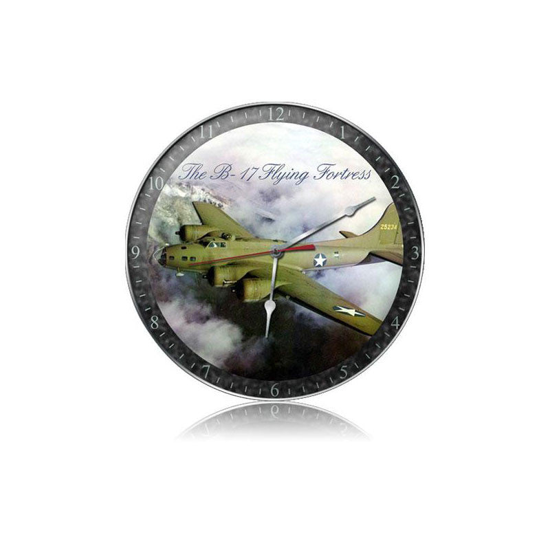 B-17 Fog Clock - Man Cave Ideas